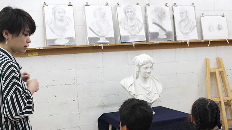 絵画クラスのカリキュラム