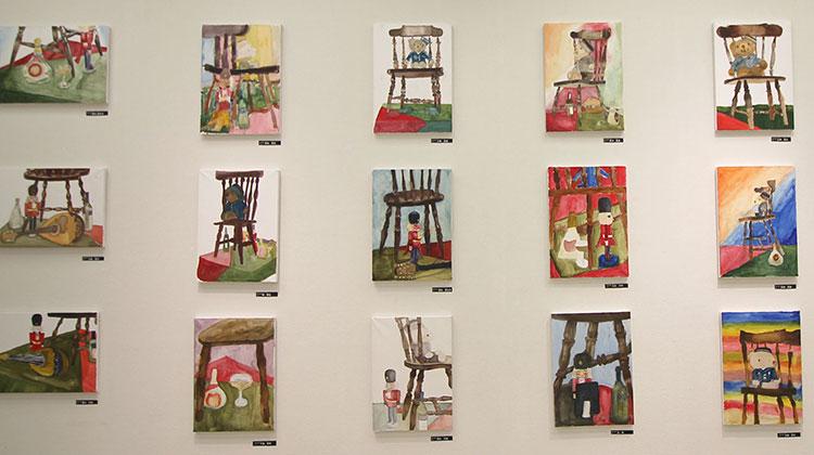 絵画クラス、作品展